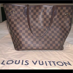 Authenticate Louis Vuitton Neverfull *Used*